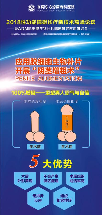 东莞2018男性ED诊疗技术高峰论坛将启幕